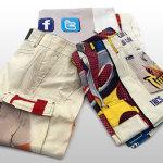 Pantaloni bianchi e tele